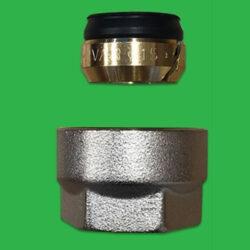 15mm Copper Pipe Manifold Nut- Eurocone