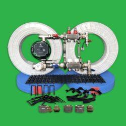 Underfloor Heating Clip Rail Pack - 40m² UFH Kit P2200R