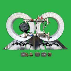 Underfloor Heating Plated Kit - 40m² UFH Pack P2200PL