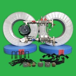 Underfloor Heating Staple Pack - UFH Warm Water Kit - 40 m² P2200S
