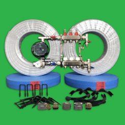 Underfloor Heating Kit - 60 m² Multi Room UFH Pack P3300S