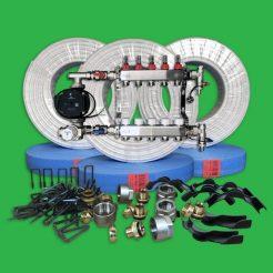 Underfloor Heating Staple Pack - 100m² UFH Kit P5500S