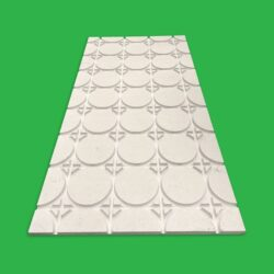 Underfloor Heating Overlay Fermacell Gypsum Boards – 15 m² Komfort 18 mm Universal UFH Pipe Layout