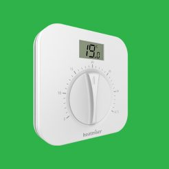 Heatmiser DS1-L v2 Dial Thermostat with Digital Display