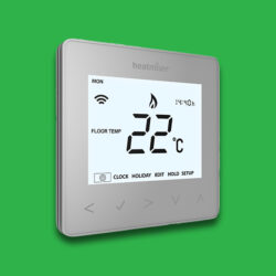 Heatmiser NeoStat Programmable Smart Thermostat 12v - Silver