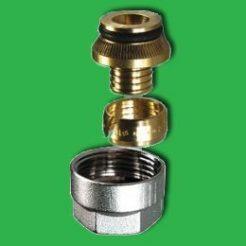 15mm Pert/Polybutylene Manifold Nut