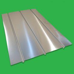 Underfloor Heating Triple Spreader Plates 3 Channel Aluminium 600 x 1000mm