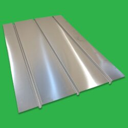 Underfloor Heating Triple Spreader Plates 3 Channel Aluminium 600 x 1000mm