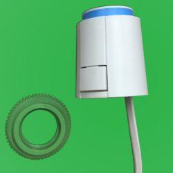 Underfloor Heating Actuator 28 mm Thread 4 wires 230v