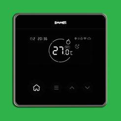 EMMETi Zona Smart Thermostat - Black U9330001