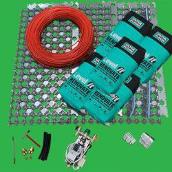 Low Profile Underfloor Heating High Performing System 4m2