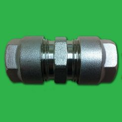Pipe Connector 16mm Multilayer (Aluminium) - Repair Coupling Fitting
