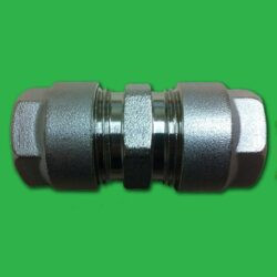 Pipe Connector 16mm Multilayer (Aluminium) - Repair Coupling Fitting