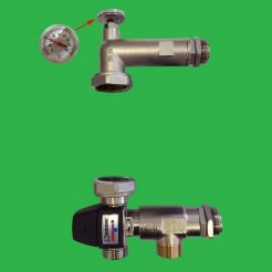 Emmeti T3 Control Set with Thermostatic Mixing Valve Replacement